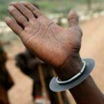 Old Turkana Fighting Wrist Knife – Ararait – Kenya