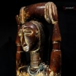 A Large Attie Female Figure – Cote d'Ivoire – Stunning And Rare Piece