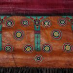 Outstanding Old Large Tuareg Leather Pillow – Niger