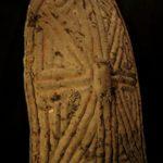 Old Large Sculptural Wandala Battle Shield – Grasslands, Cameroon