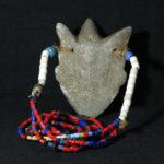 Old Fine Pende Necklace – Ikoko Amulet – DR Congo