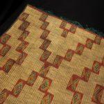 Fine Woven Straw Leather Carpet – Tuareg – Mauritania