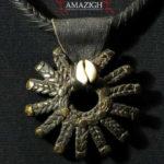 Fine Dogon Bronze Amulet – SUN – Mali