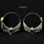 Old Berber Earrings – Ida Ou Nadif Tribe – Anti Atlas, Morocco