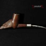 Old Fine Smoking Pipe – Chokwe – DR Congo