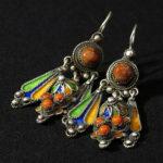 Fine Berber Earrings – Tiznit, Morocco