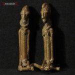 Fine Dogon Bronze Figures – Ancestors – Mali